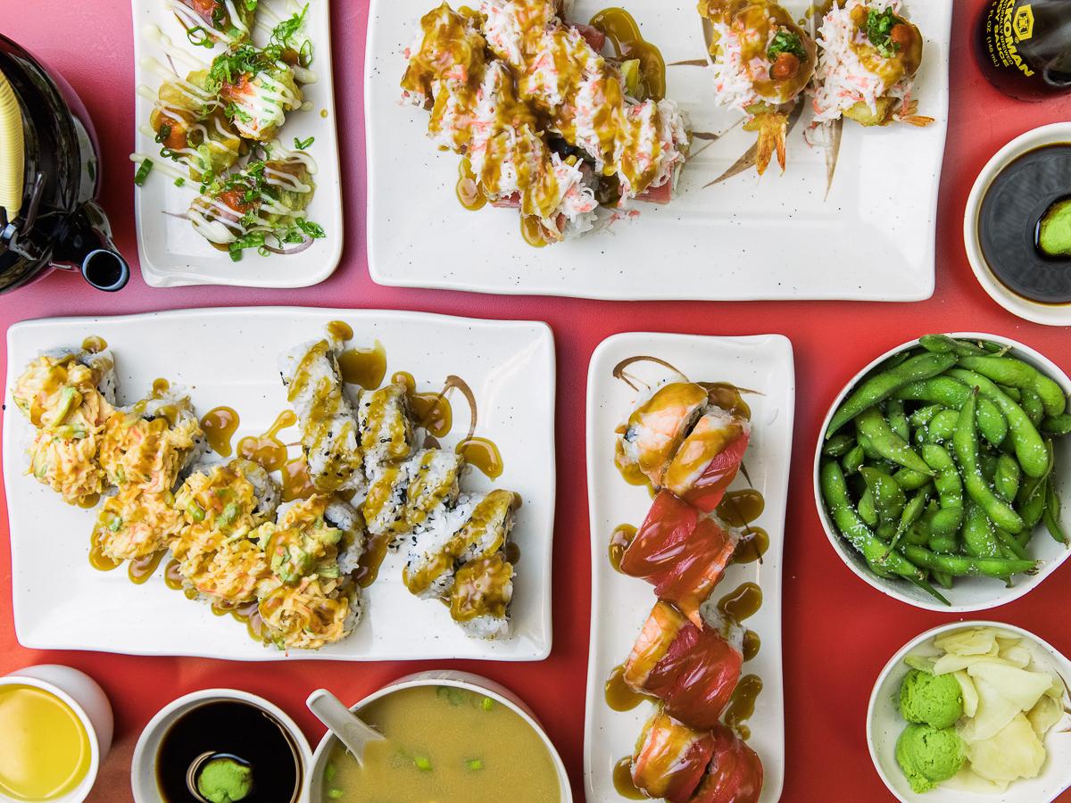 IOU Sushi IV (Credit: Taylor Noel Photography)