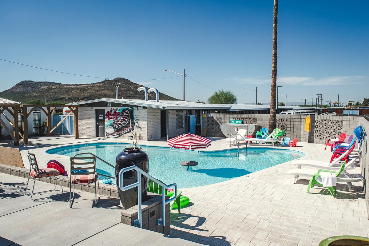 Pool at Hotel McCoy (Credit: Jackie Tran)