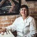 """Chef Fulvia Steffenone """"La Fufi"""" at Caffe Milano (Credit: Jackie Tran)"""