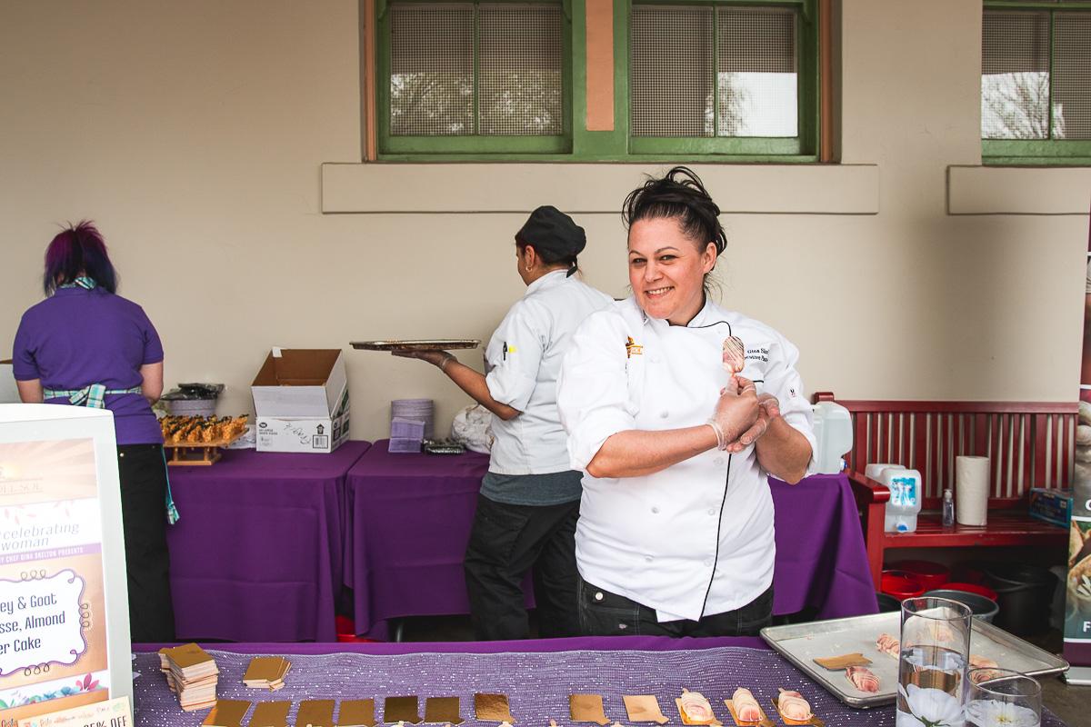 Executive pastry chef Gina Skelton from Casino Del Sol at Vida (Credit: Jackie Tran)