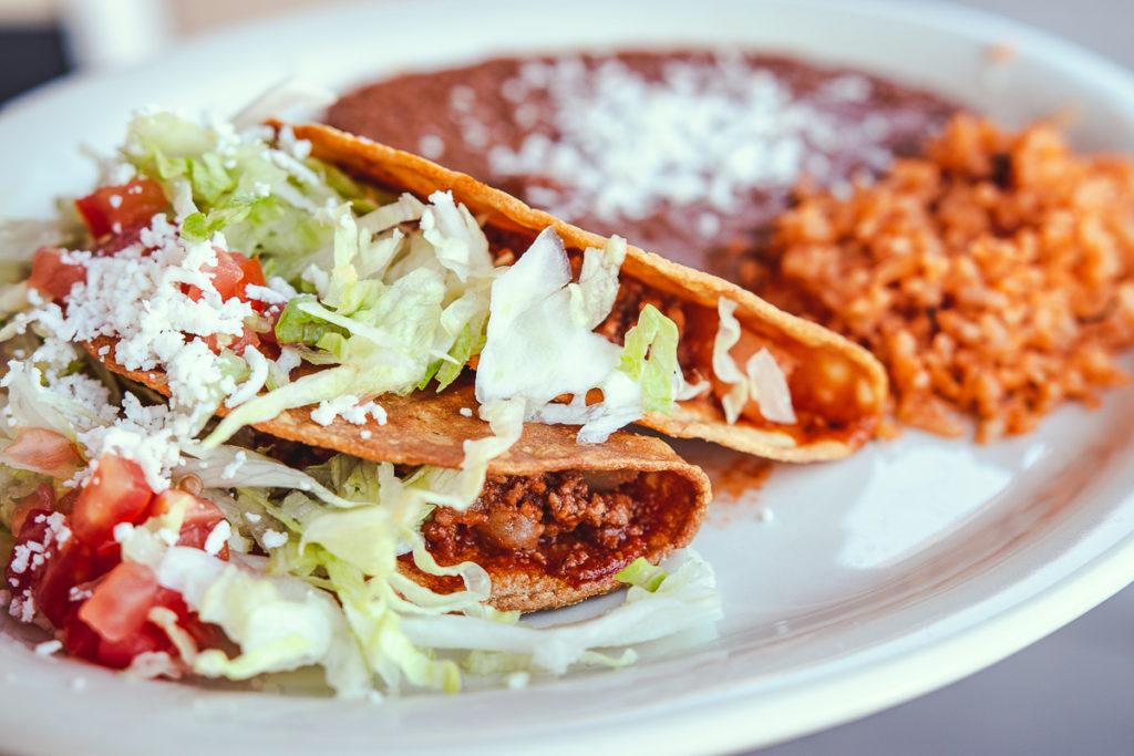 Nana's Special Tacos at Nana's Kitchen (Credit: Jackie Tran)