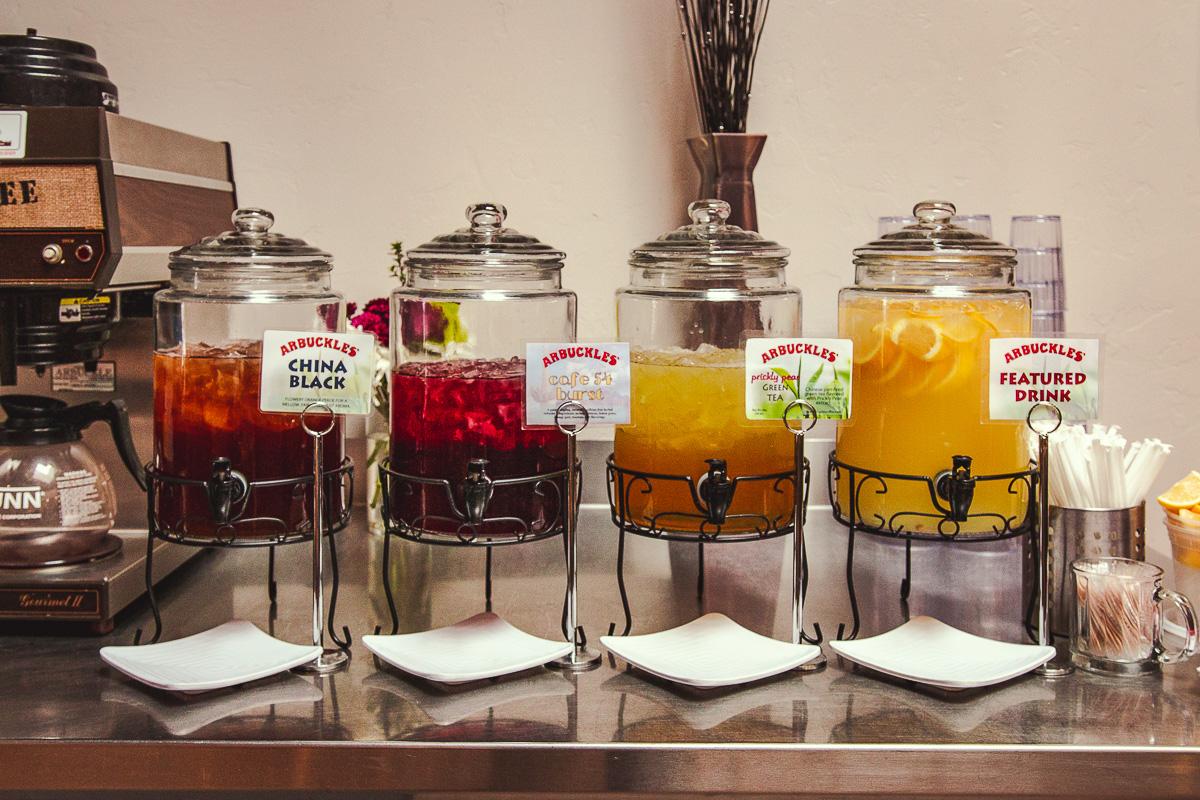 Tea at Cafe 54 (Credit: Jackie Tran)