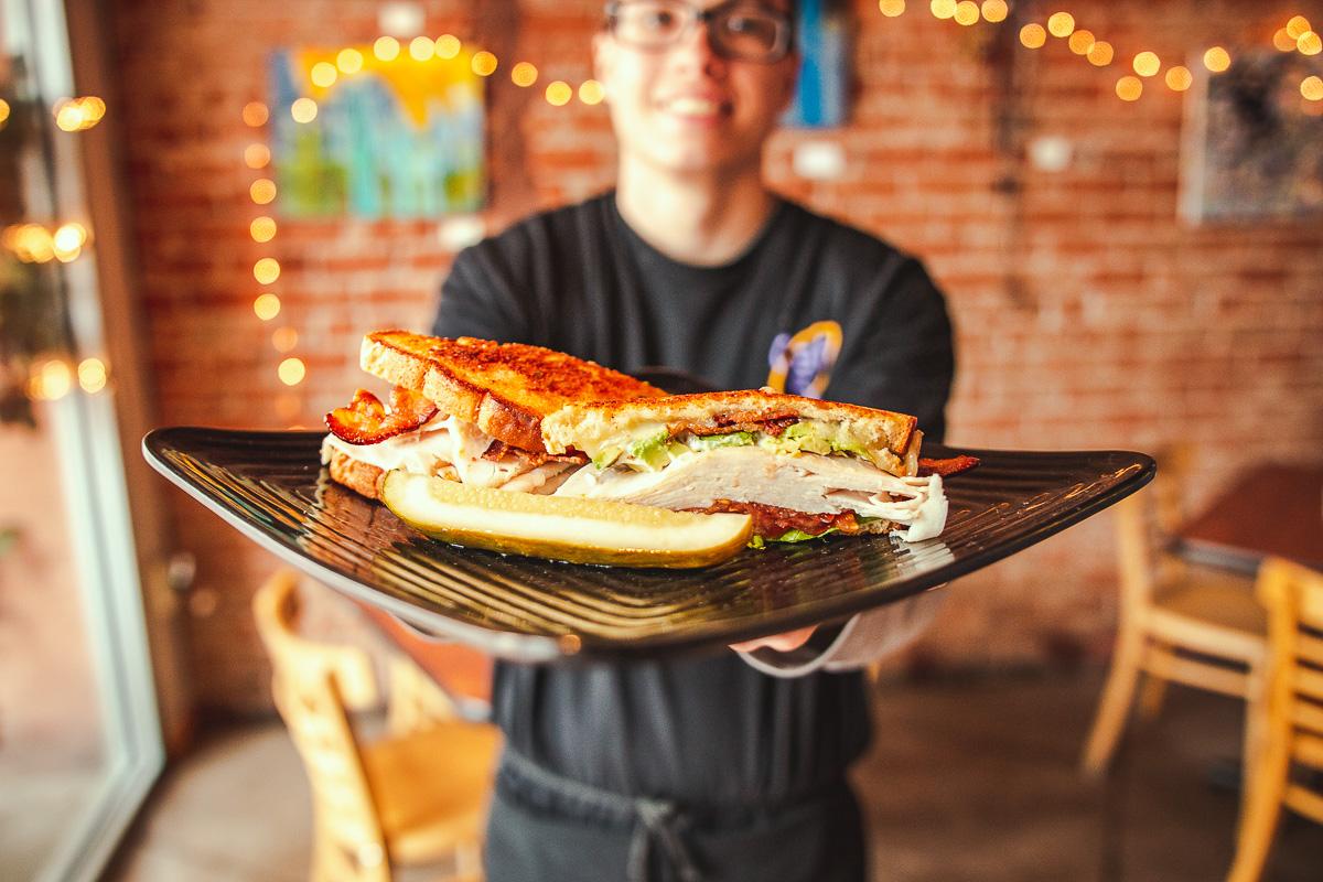 Club sandwich at Cafe 54 (Credit: Jackie Tran)